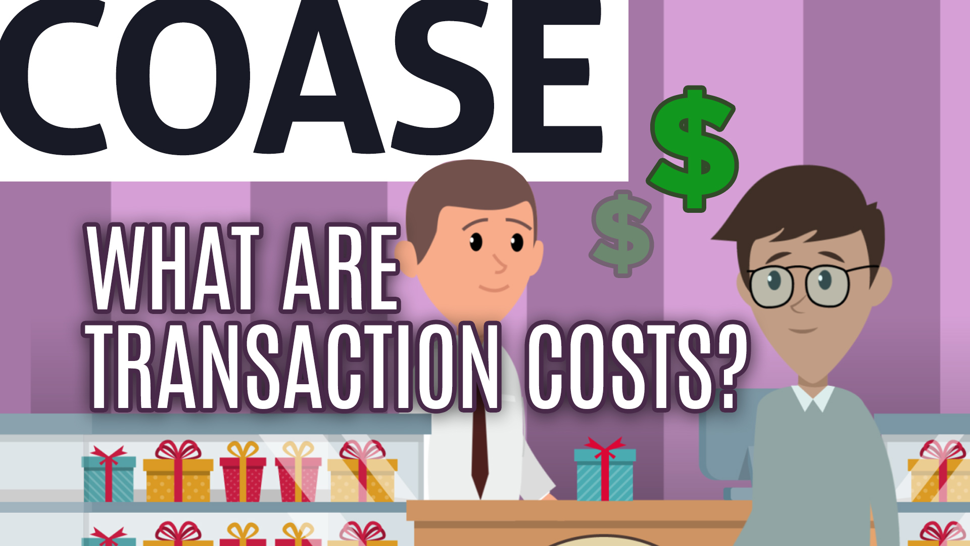 What Are Transaction Costs?