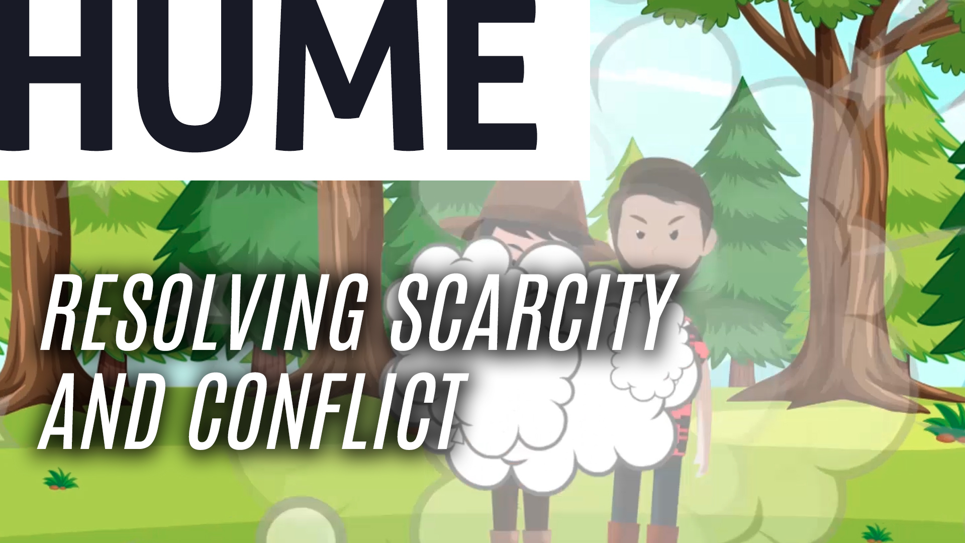 Resolving Scarcity and Conflict