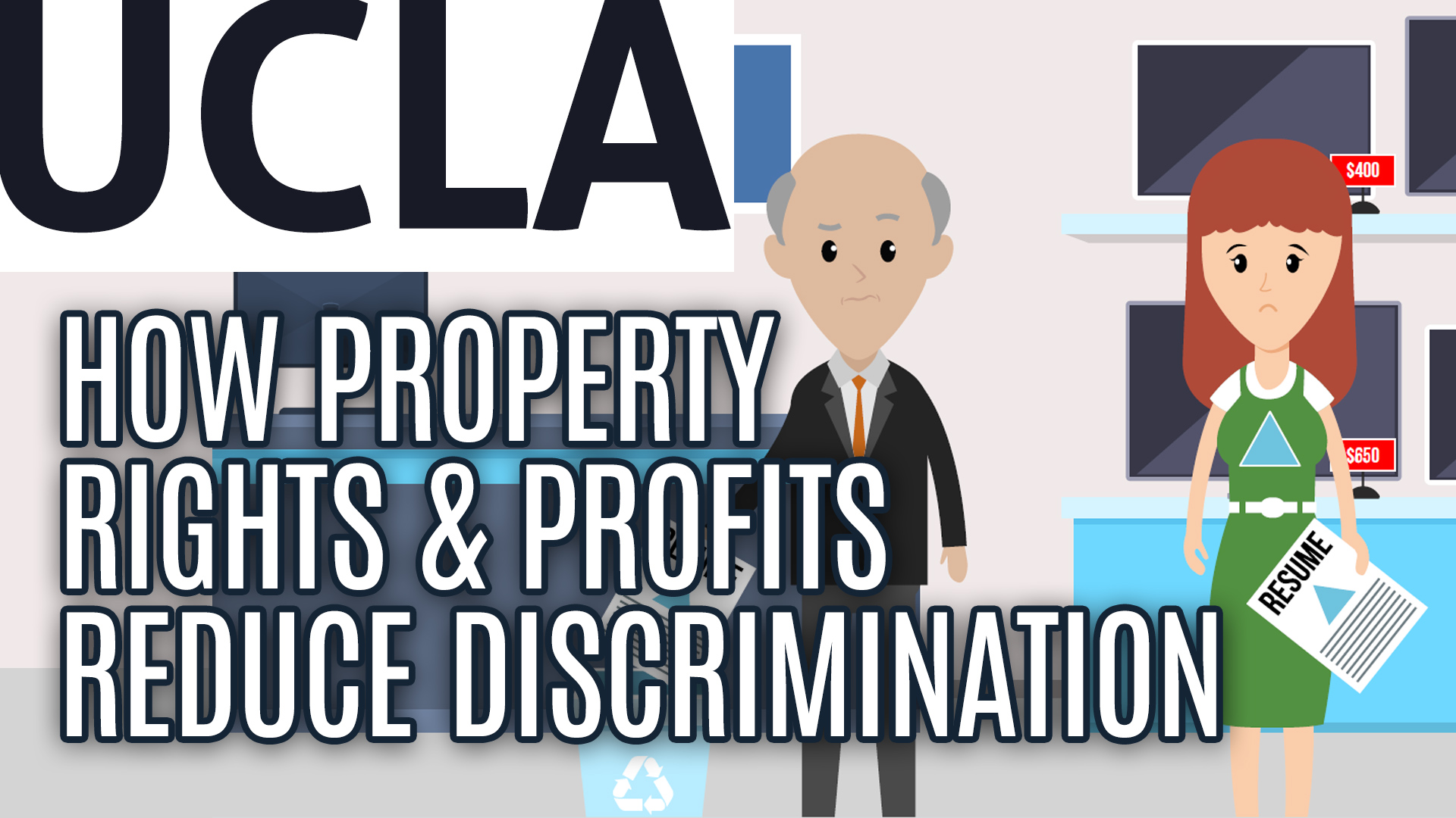How Property Rights & Profits Reduce Discrimination